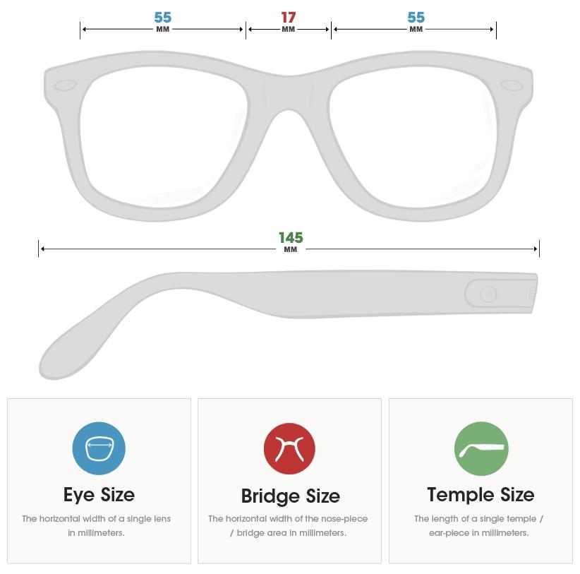 Frame Size & Fit Guide   Go-Optic.com